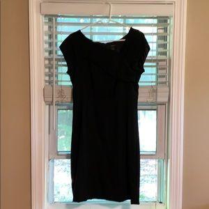 Jcrew wool suiting dress